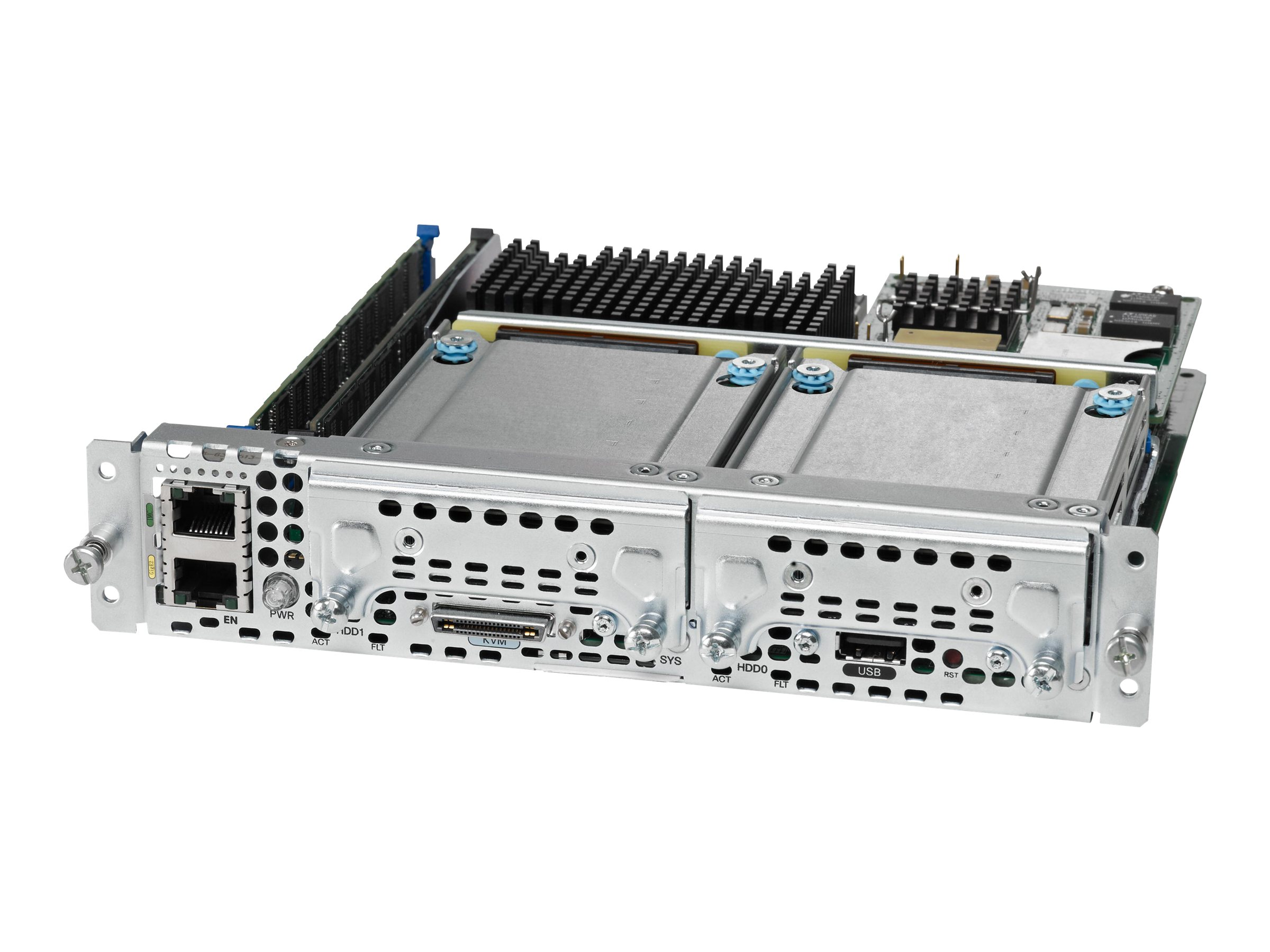 Cisco UCS E-Series Single-Wide Server Blade Xeon QC E3 1100 v1 8GB 2xSD Cards, UCS-E140S-M1/K9=, 17423000, Servers - Blade