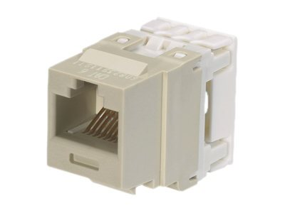 Panduit 1-Port Modular Jack 110 8w8p (25-pack), NK688MIW-Q
