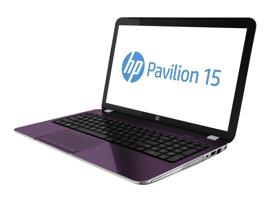 HP Pavilion 15-e086nr : 1.5GHz A4-Series 15.6in display