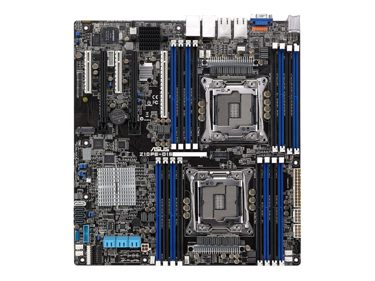 Asus Motherboard, Z10PE-D16 2L ATX C612 LGA2011, Z10PE-D16/2L/10G-2T, 25876201, Motherboards