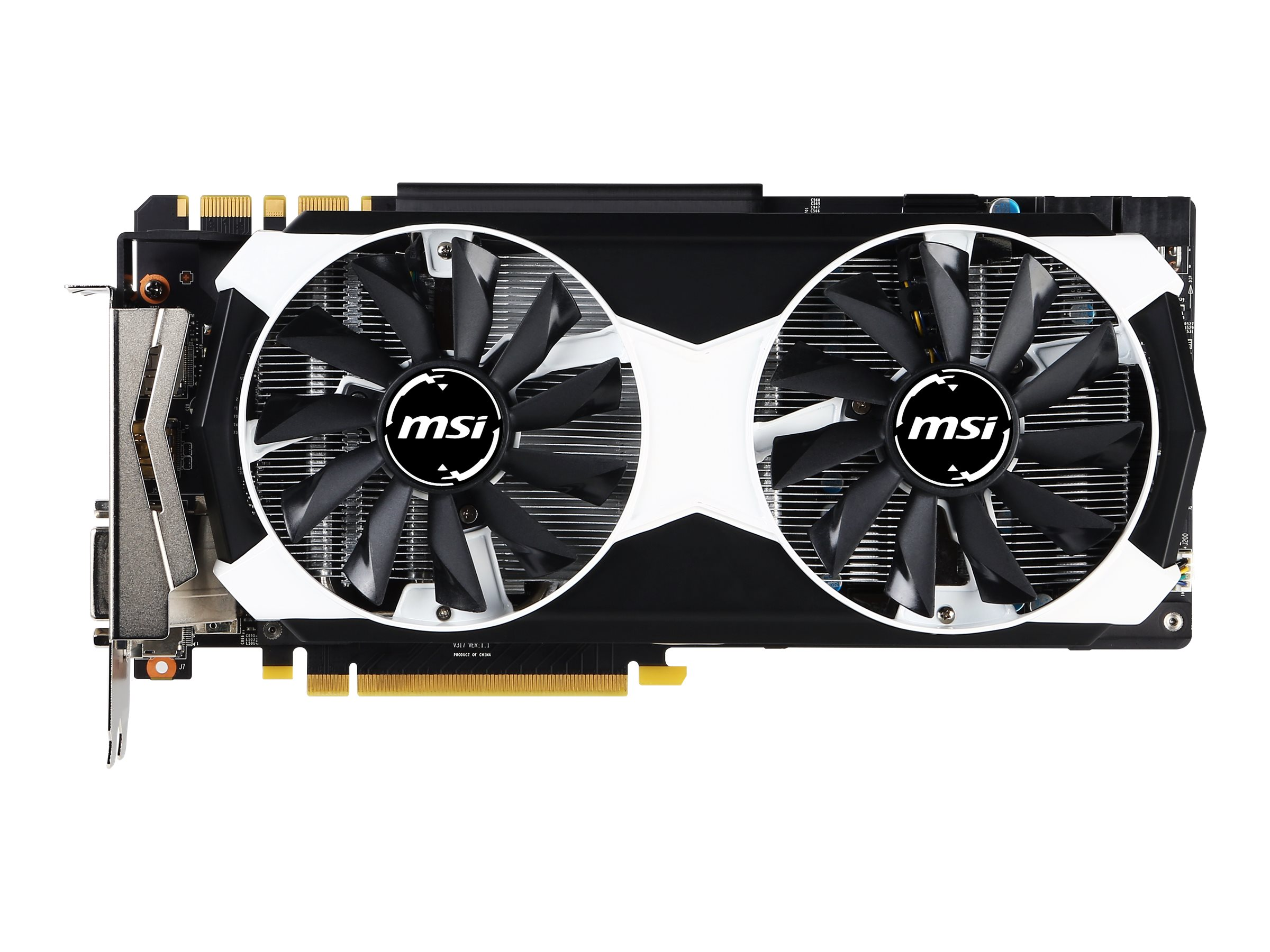 Microstar GeForce GTX 980 PCIe 3.0 x16 Overclocked Graphics Card, 4GB GDDR5, GTX 980 4GD5T OC, 30623508, Graphics/Video Accelerators