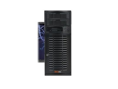 Supermicro Barebones Mid Tower, 5520 DP, 24GB Max, 4xSATA, 665W PSU, SYS-7036A-T