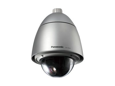 Panasonic Super Dynamic 6 Weather-Resistant PTZ Dome Camera with Rain Wash Coating, WVCW594A