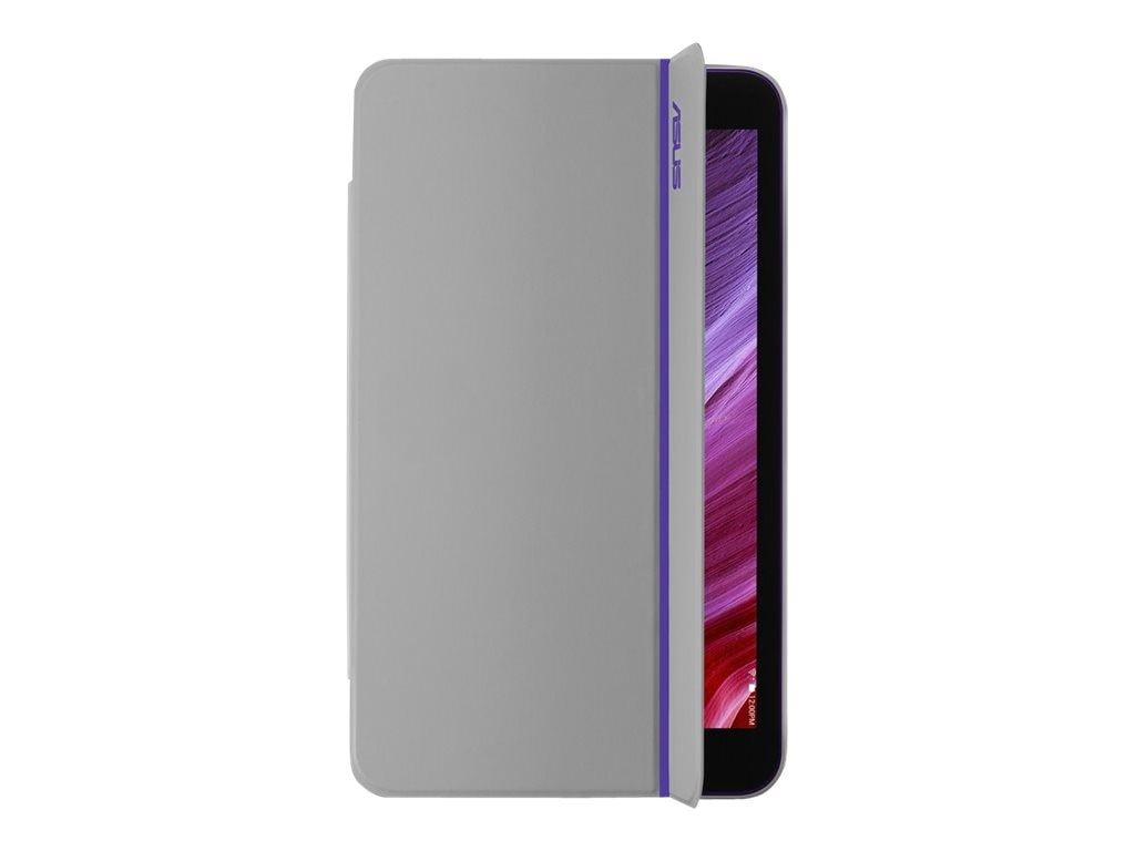 Asus Magsmart Cover for Memo Pad ME181, Purple Stripe, 90XB015P-BSL1P0, 18004552, Carrying Cases - Tablets & eReaders