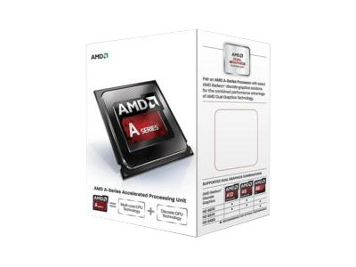 AMD Processor, A8-6500T QC 2.1GHz 4MB 45W, Box