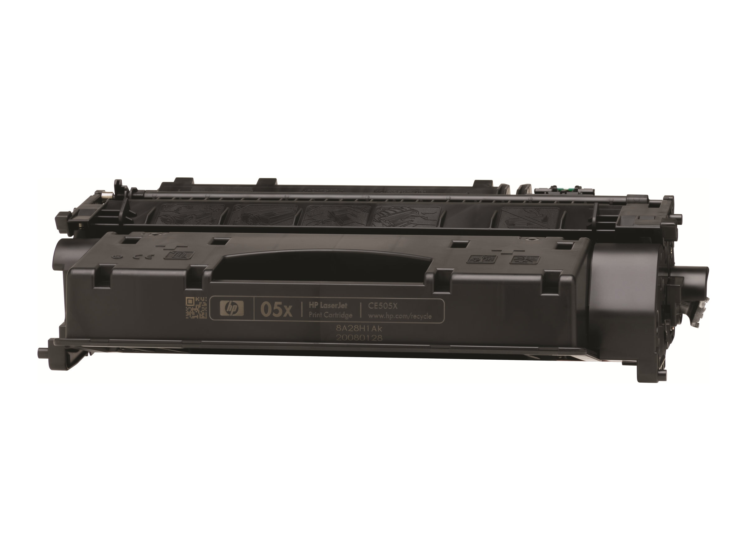 HP 05X (CE505XD) 2-pack High Yield Black Original LaserJet Toner Cartridges, CE505XD, 11226321, Toner and Imaging Components