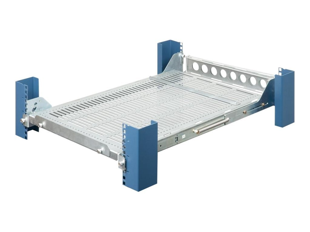 Innovation First 4-Post 28 Sliding Toolless Shelf Medium Duty 95lb, Galvanized