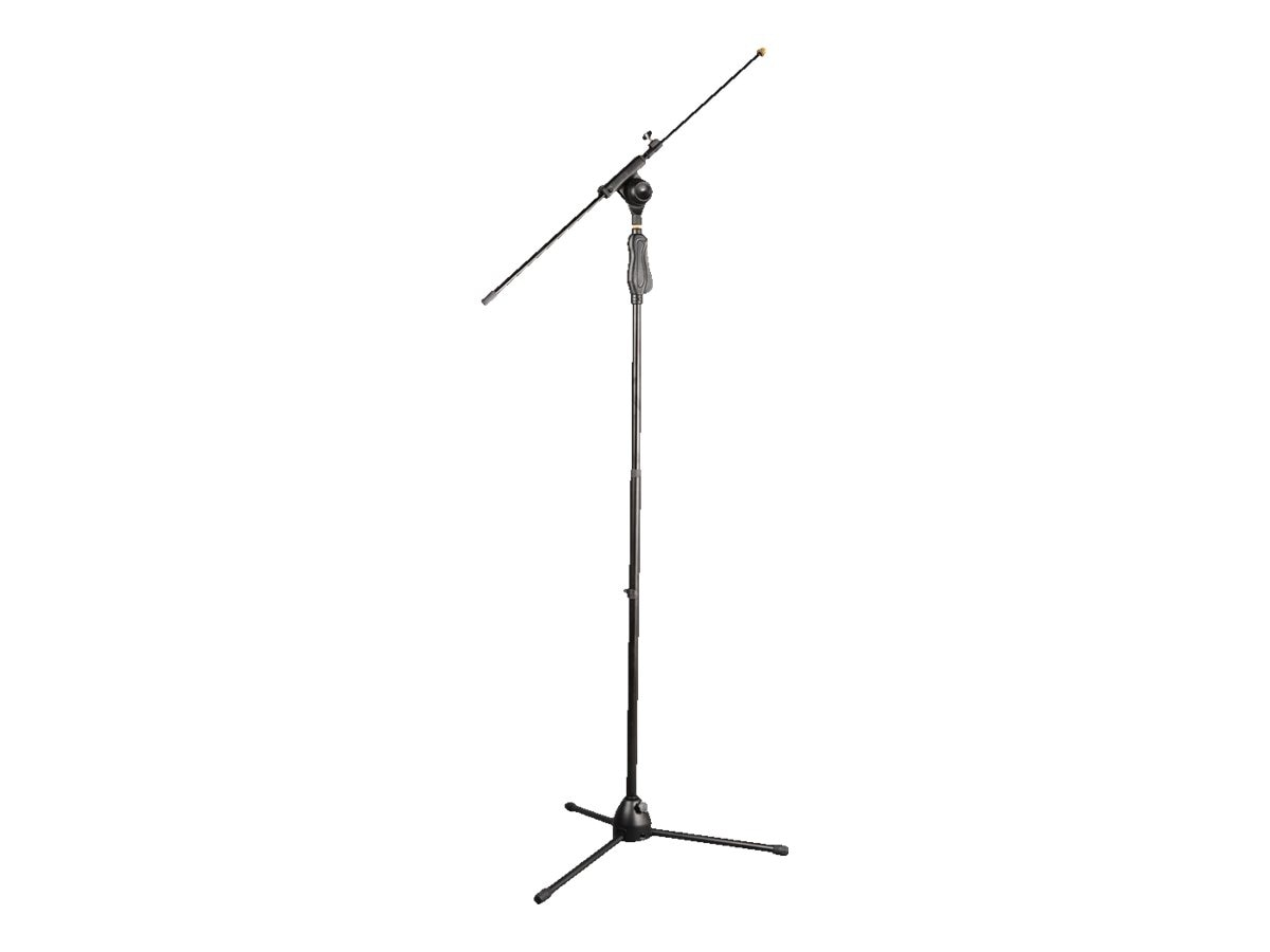 Pyle Universal Height Adjustable Tripod Microphone Stand with Easy Grip
