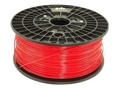 PrintrBot 1.75mm Red 0.5kg PLA Filament, PBREDP