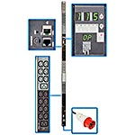 Tripp Lite Monitored PDU 11.5kW 360-415V Input, 200-240V 3-ph, IEC309 20A Red, (42) C13, (6) C19 Outlets, TAA