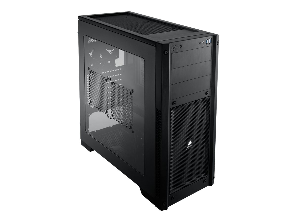 Corsair Carbide Series 300R Windowed Gaming Chassis MT ATX mATX 4x3.5 2.5+3x5.25 Bays 2xUSB 3.0, CC-9011017-WW