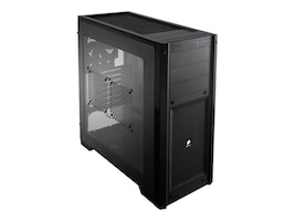 Corsair Carbide Series 300R Windowed Gaming Chassis MT ATX mATX 4x3.5 2.5+3x5.25 Bays 2xUSB 3.0, CC-9011017-WW, 14763359, Cases - Systems/Servers