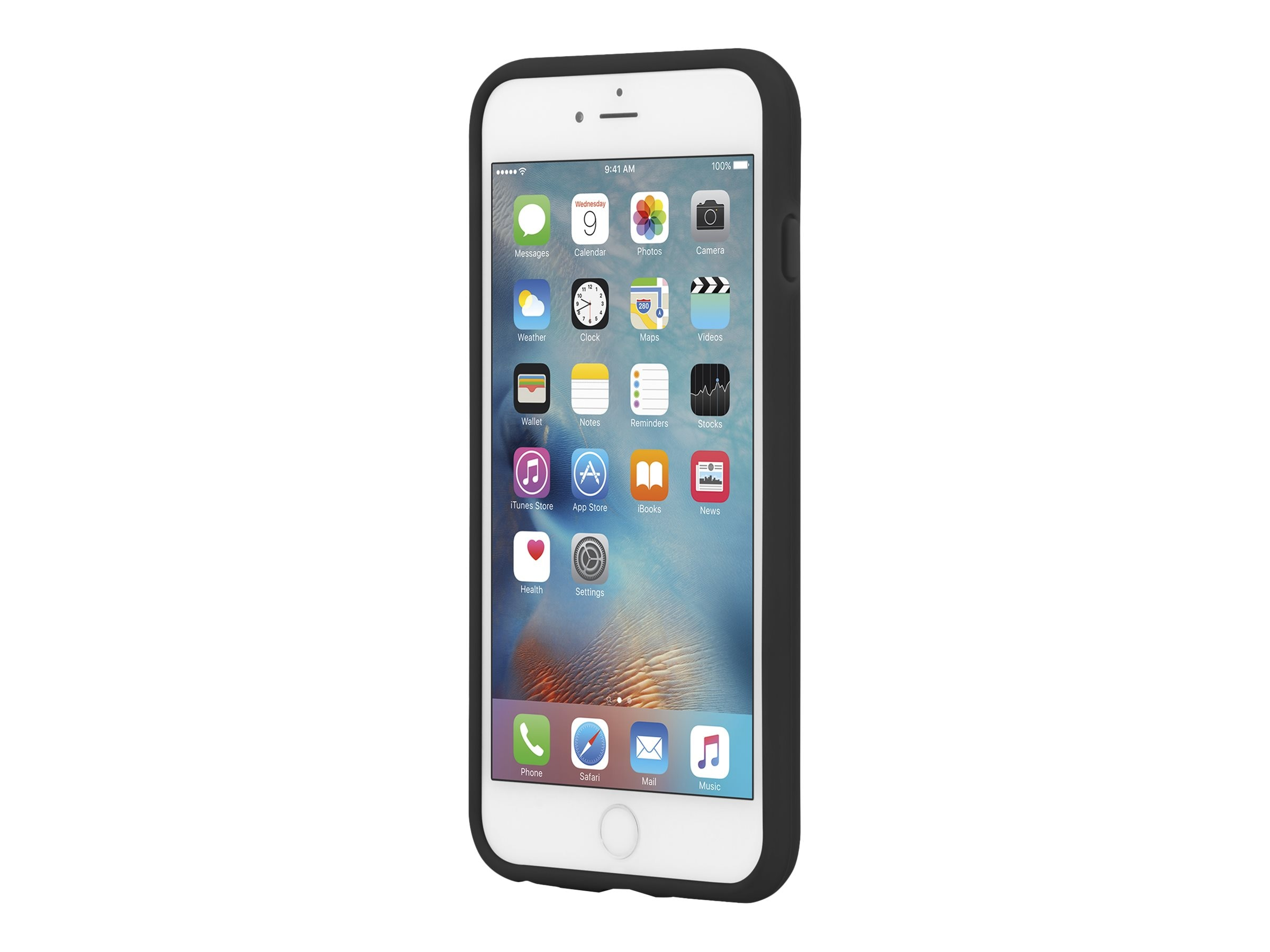 Incipio Kicksnap Case for iPhone 6 Plus, 5.5, Black