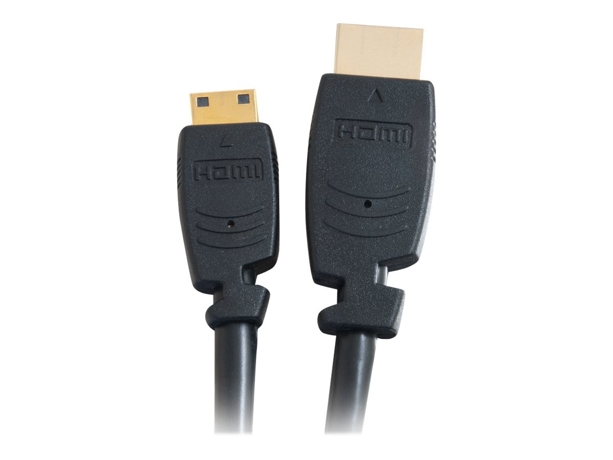 C2G Velocity HDMI Cable, Mini HDMI to HDMI, 1m