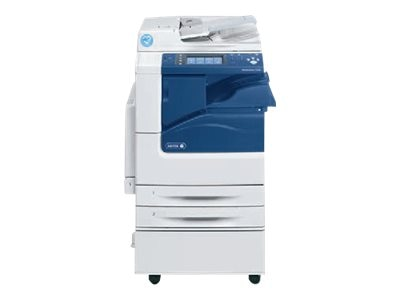 Xerox WC7220I MFP w  Stand, (2) 520 Sheet Trays & 50-Sheet Bypass Tray, 7220/P2I, 31854172, MultiFunction - Laser (color)