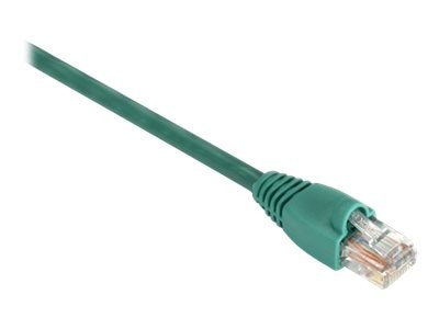 Black Box GigaBase 350MHz CAT5E Snagless Booted Patch Cable, Green, 6ft