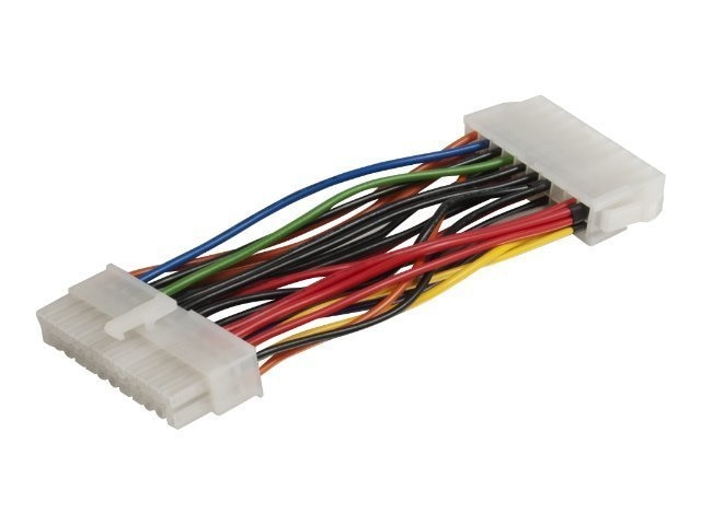 C2G Internal Power Adapter Cable, 20-pin ATX (F) to 24-pin ATX (M), 5.5in, 35520, 8169628, Adapters & Port Converters
