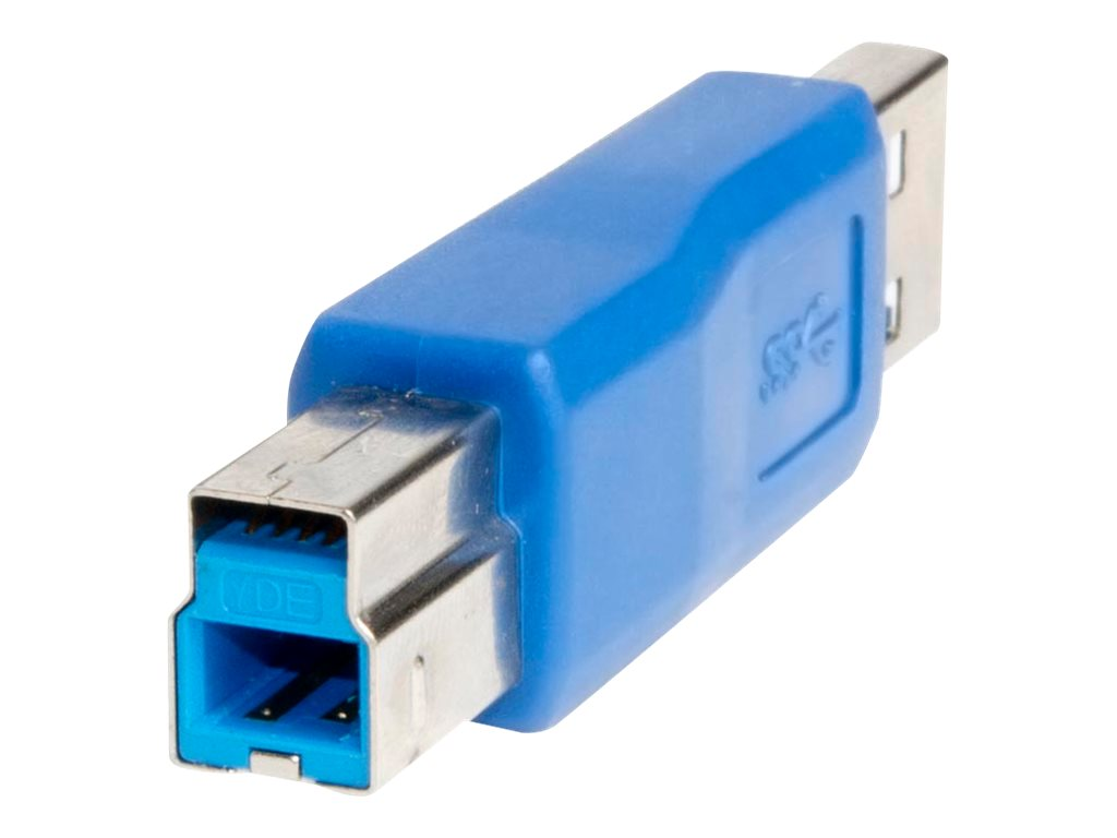 Syba USB 3.0 Type to USB Type B M M Adapter, Blue, SY-ADA20086