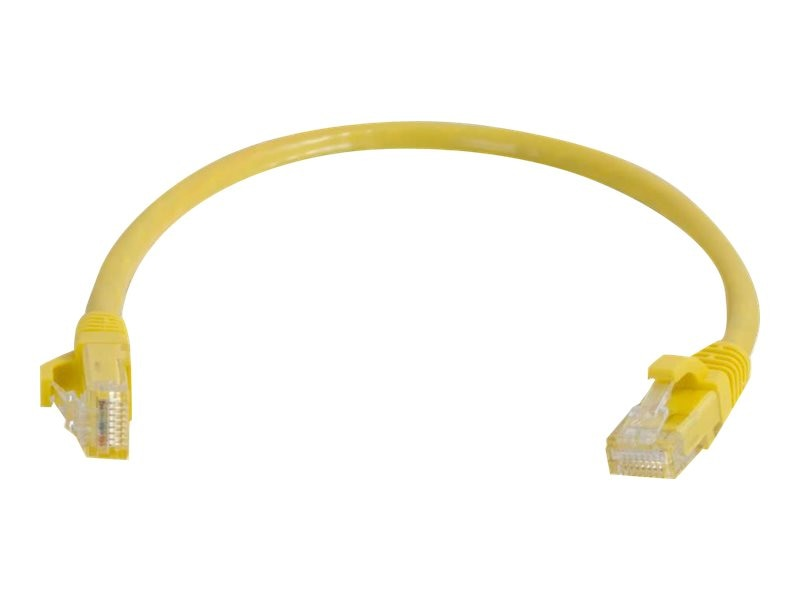 C2G Cat5e Snagless Unshielded (UTP) Network Patch Cable - Yellow, 6