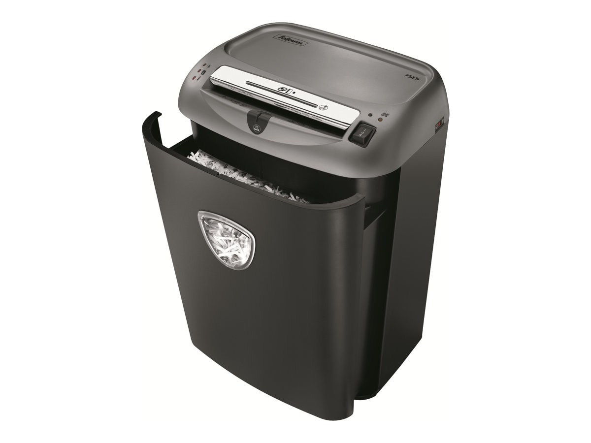 Fellowes Powershred 75Cs Cross-Cut Shredder, 4675701, 13355695, Paper Shredders & Trimmers