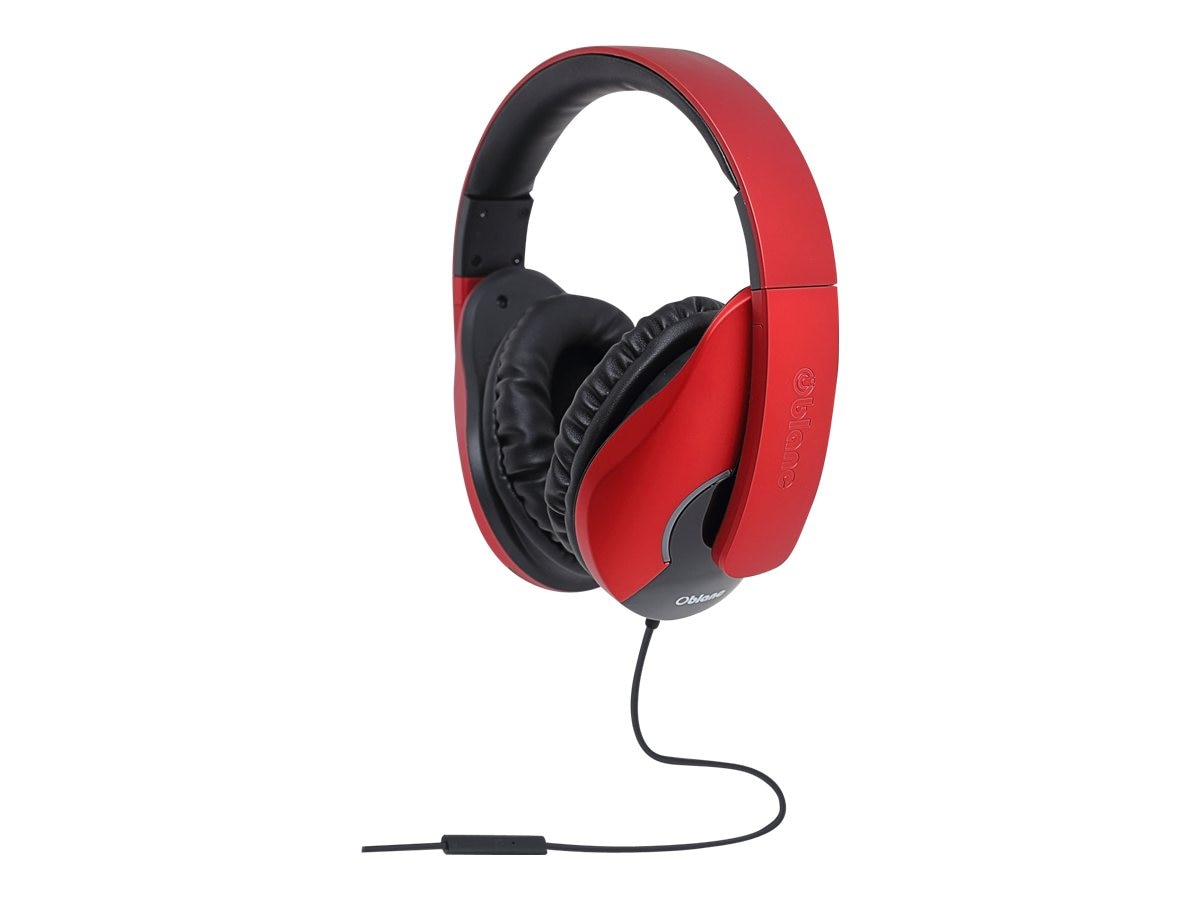 Syba OBLanc Shell Audio 2.0 Stereo Headphone w  Microphone