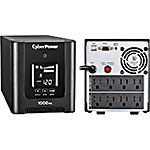 CyberPower PFC Sinewave 1500VA 1050W 120V Line-Interactive LCD Mini-tower UPS (8) Outlets USB
