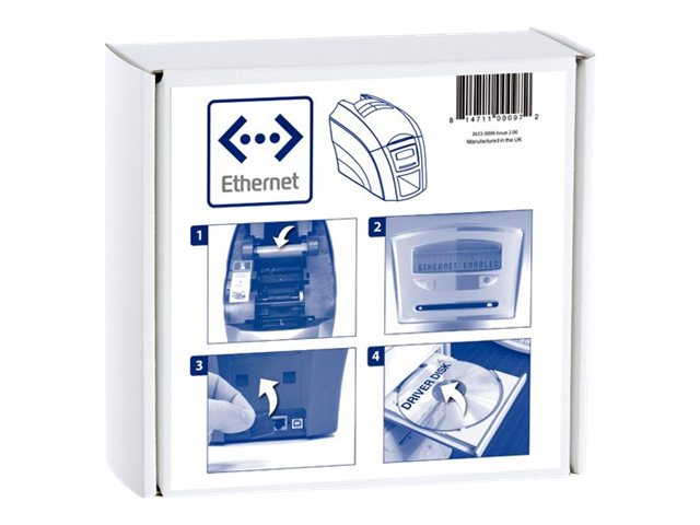 Magicard Enduro+ Ethernet Upgrade Kit, 3633-0096, 16841550, Network Print Servers