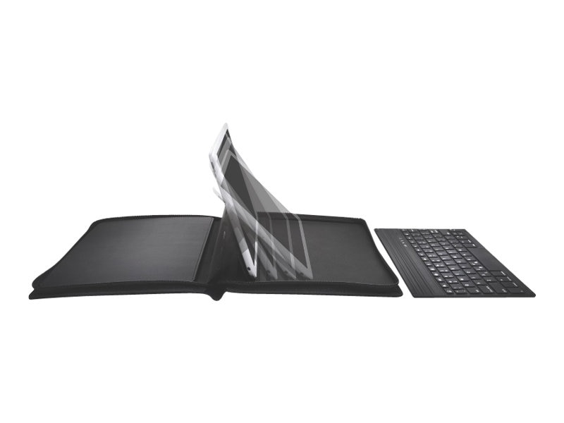 Kensington KeyFolio Executive Zipper Folio with Keyboard for iPad Air, K97009US