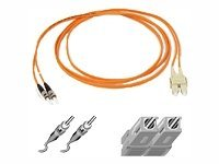 Belkin Multimode SC ST Duplex Fiber Patch Cable, 25 feet  (A2F20207-25), A2F20207-25, 270140, Cables