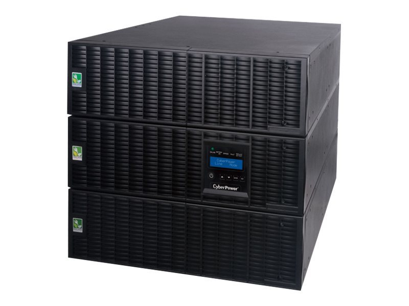 CyberPower Smart App Online 8,000VA 7200W 9U R T Pure Sinewave UPS, (18) Outlets, OL8000RT3UTF, 14530993, Battery Backup/UPS