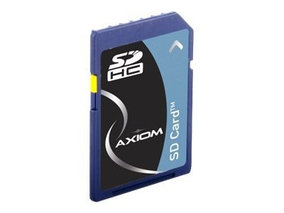 Axiom 8GB SDHC Flash Memory Card, Class 4, SDHC4/8GB-AX, 14315679, Memory - Flash