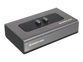 IOGEAR Peripheral Sharing Switch, 2-Port, USB 2.0, GUB212, 28892160, Switch Boxes
