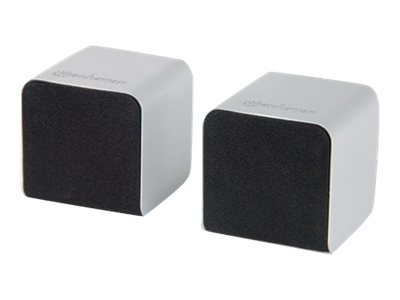 Manhattan Lyric Duo Bluetooth 2.1 Speakers, 161367, 16639351, Speakers - Audio