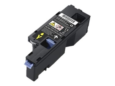 Dell Yellow Toner Cartridge for E525W Printer (593-BBJW), 3581G