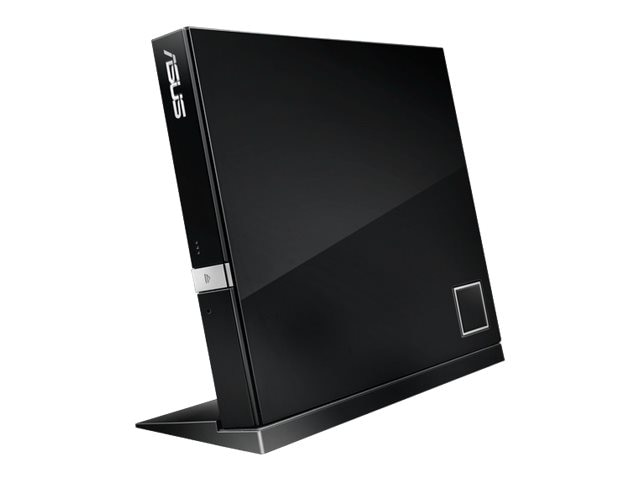 Asus 6x External Slim Combo BD DVD USB Drive - Black, SBW-06D2X-U/BLK/G/AS