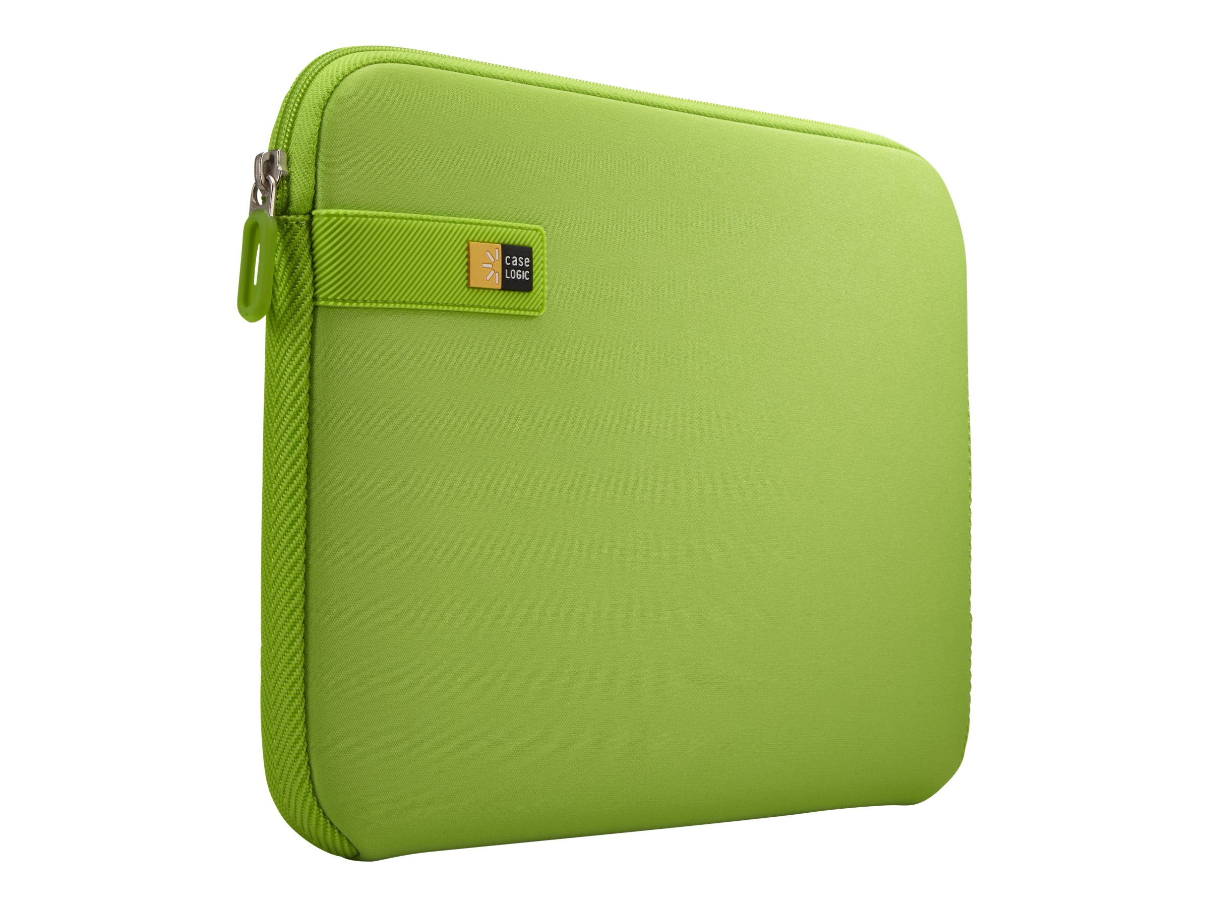 Case Logic 11 Chromebook Sleeve, Lime, LAPS111LIME, 22614249, Carrying Cases - Notebook