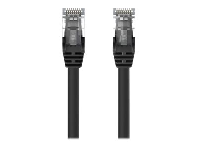 Belkin Cat5e Snagless Patch Cable, Black, 10ft, A3L791-10-BLK-S