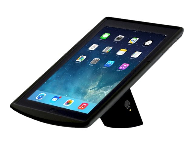 Tryten Liberty for iPad Air 2 w  Stand, Enclosure, Button Blockers, Power Connector, Black, T7704B