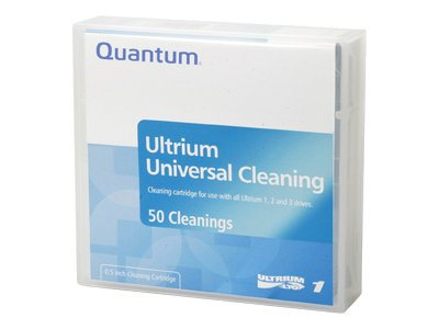 Quantum Cleaning Cartridge, LTO Customized, MR-LUCQN-BC, 7511591, Tape Drive Cartridges & Accessories