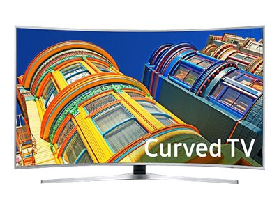 Samsung 64.5 KU6500 4K Ultra HD LED-LCD Curved TV, Black, UN65KU6500FXZA