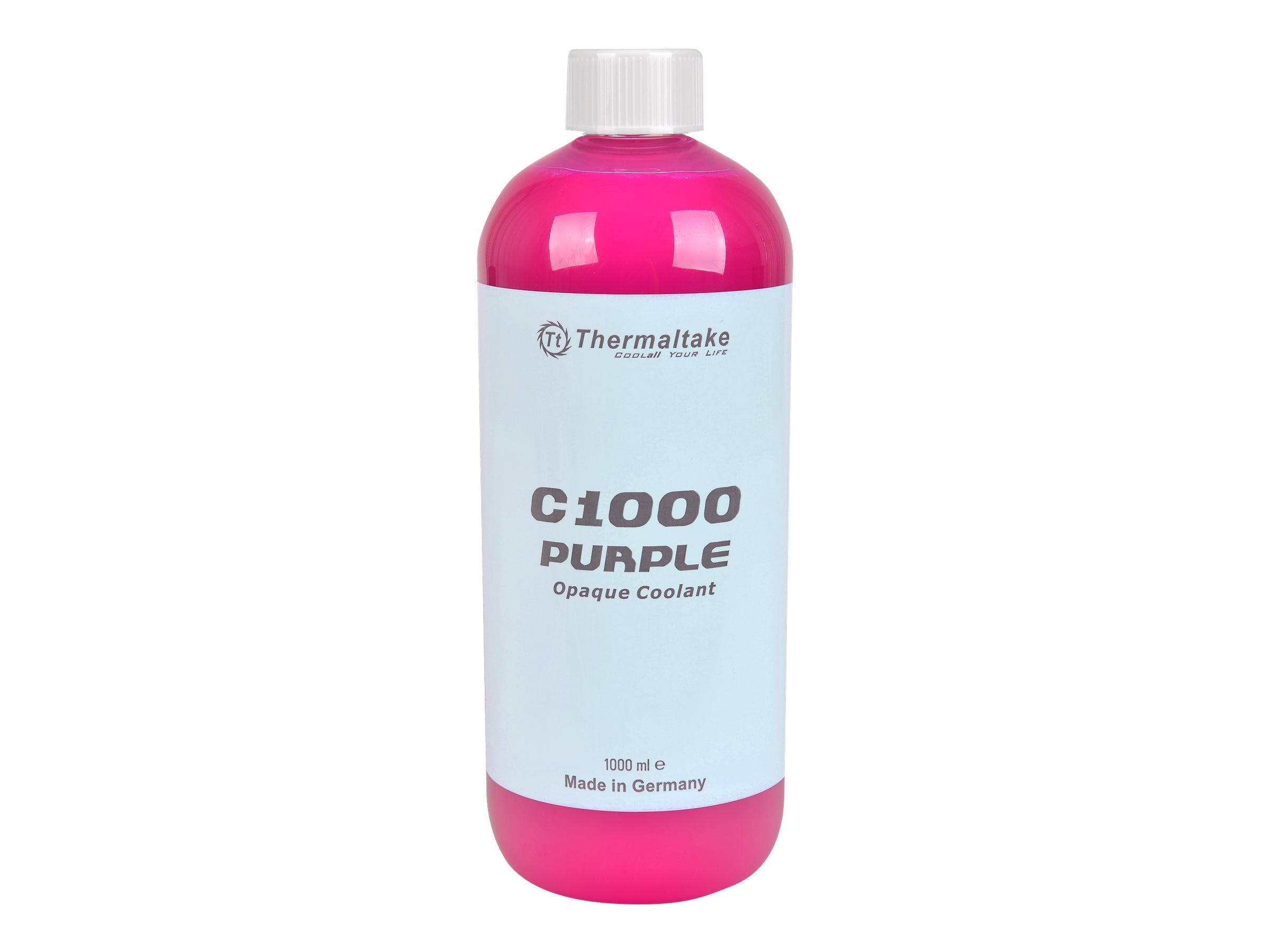 Thermaltake C1000 Opaque Liquid Coolant, Purple, CL-W114-OS00PL-A, 31583368, Cooling Systems/Fans