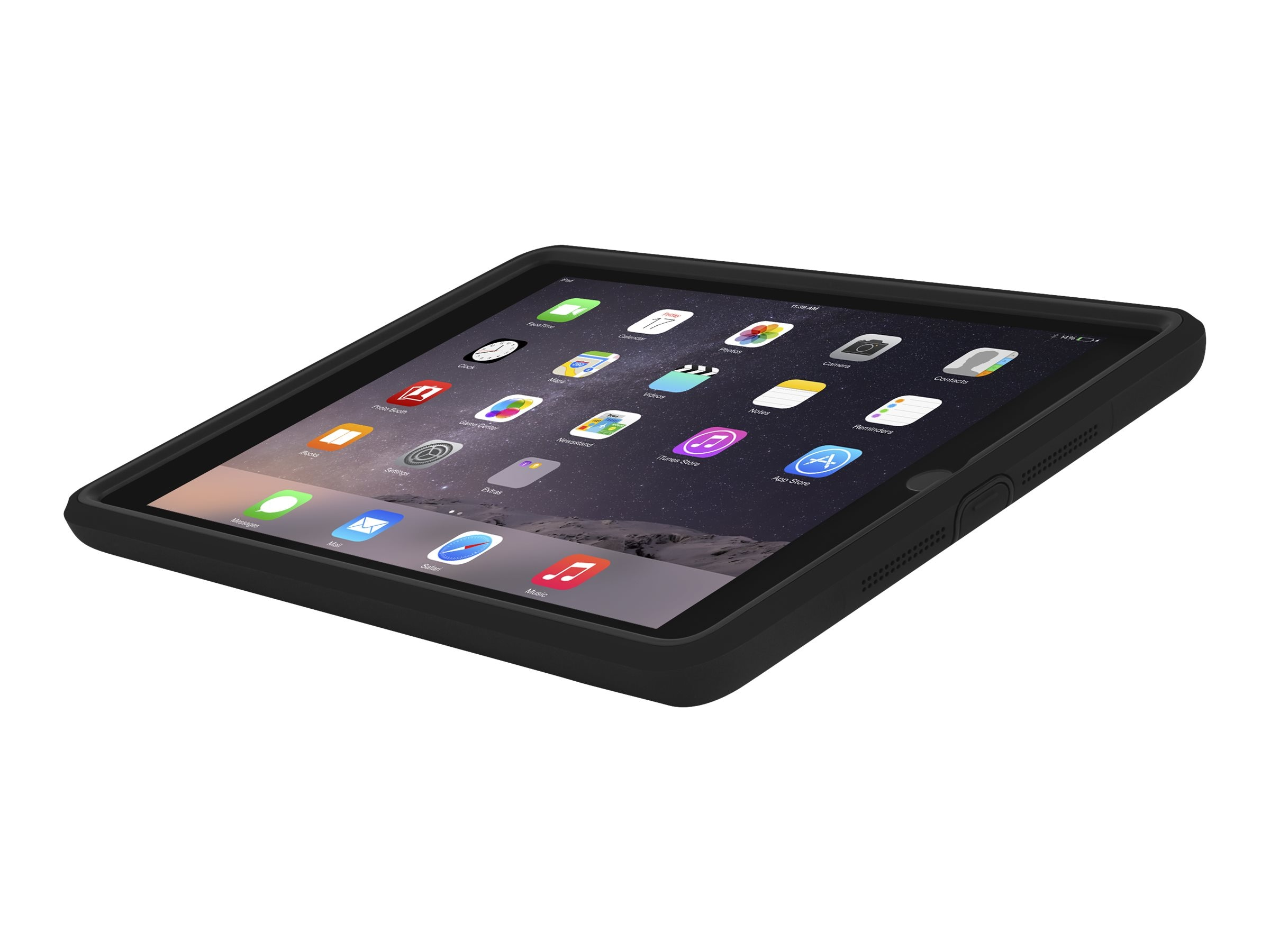 Incipio Capture Ultra-Rugged Case w  Rotating Hand Strap for iPad Air 2, IPD-261-BLK, 31204073, Carrying Cases - Tablets & eReaders