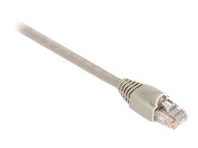 Black Box GigaBase 350MHz CAT5E Snagless Booted Patch Cable, Beige, 1ft