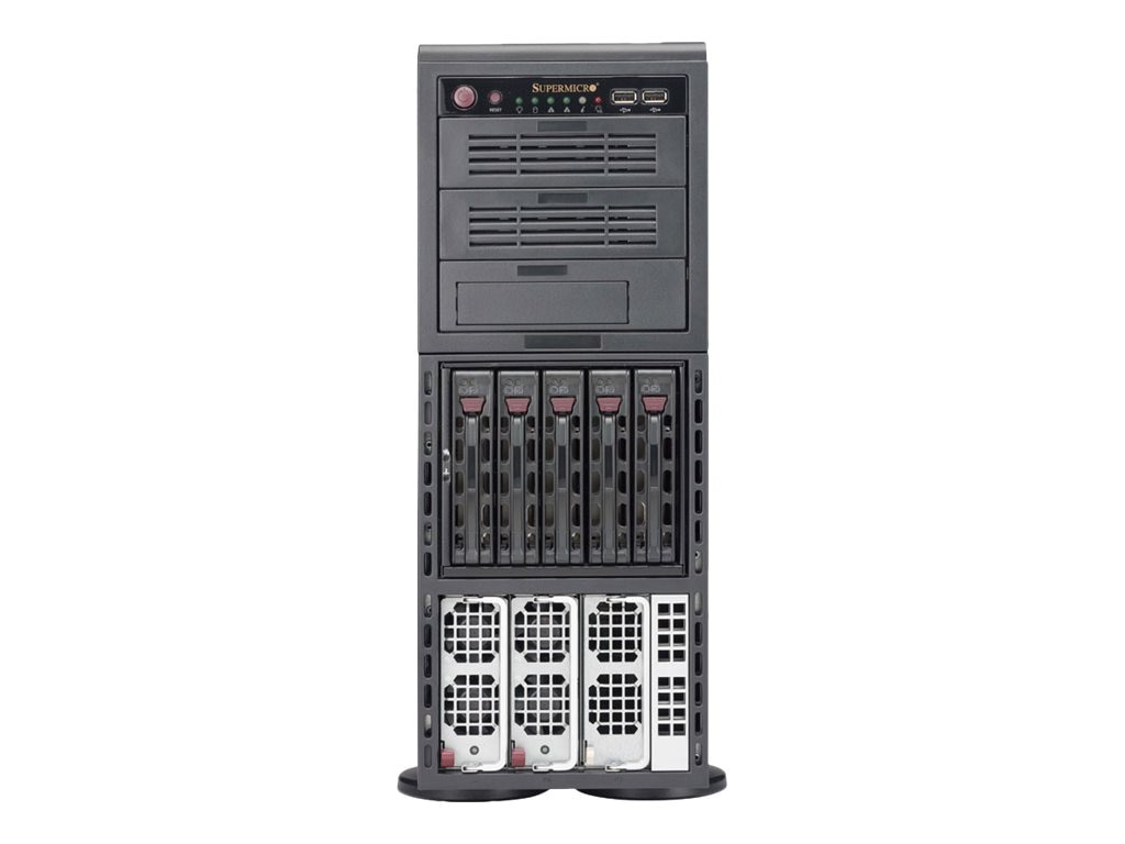 Supermicro X10QBL-4 CSV-748TQ-R1K43B 4WAY BRICKLAND