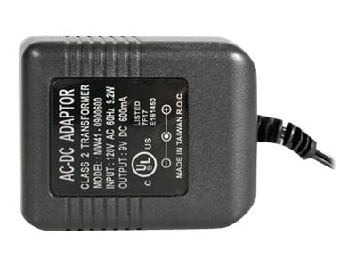 StarTech.com 9V Replacement Power Adapter for KVM Switches Video Splitters