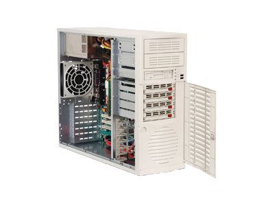 Supermicro Barebone A+ Server AS4710S-T Opteron DC 100, Max. 4GB, 4xSATA, 450W, Beige, AS-4710S-T, 6808916, Barebones Systems