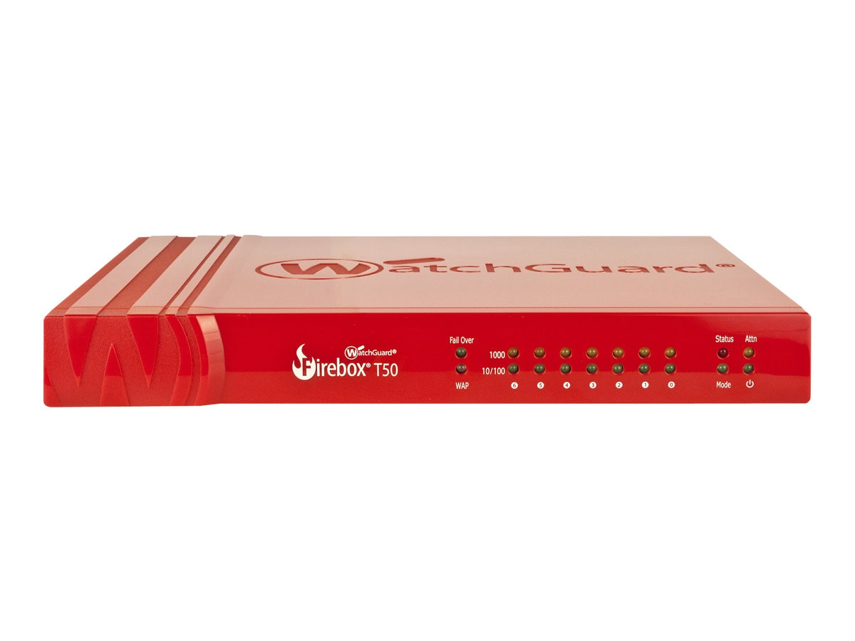Watchguard Firebox T50-W w 1-year Total Security Suite (US), WGT51641-US
