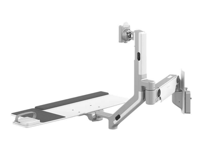 Humanscale V6 Wall Station, Solo Adjustable Arm, V600-S2XX-10790