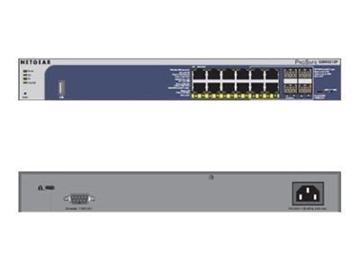 Netgear ProSafe 12-Port Gigabit PoE Managed Switch, GSM5212P-100NES