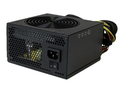 StarTech.com 530 Watt ATX12V 2.3 80 Plus Computer Power Supply w  Active PFC